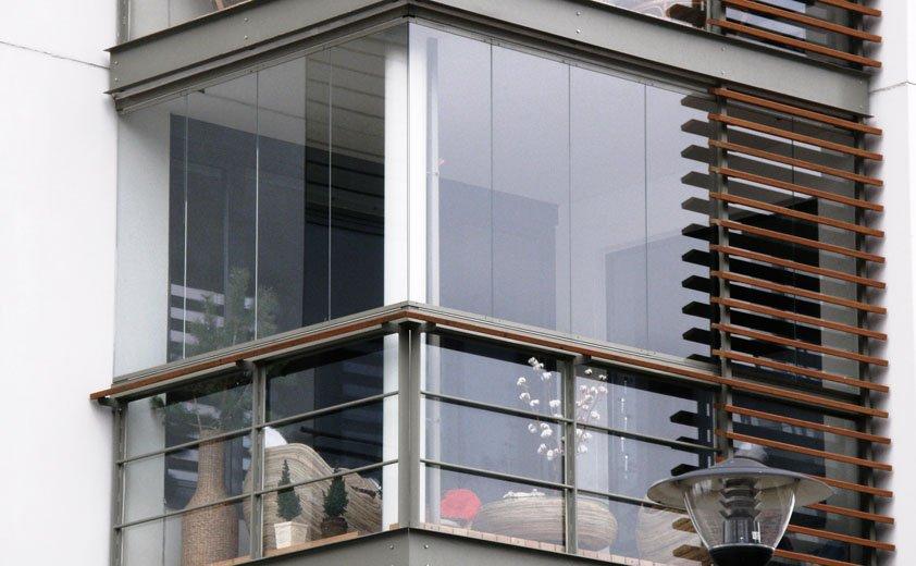 Панорамное остекление балконов и лоджий: за и против - фото .